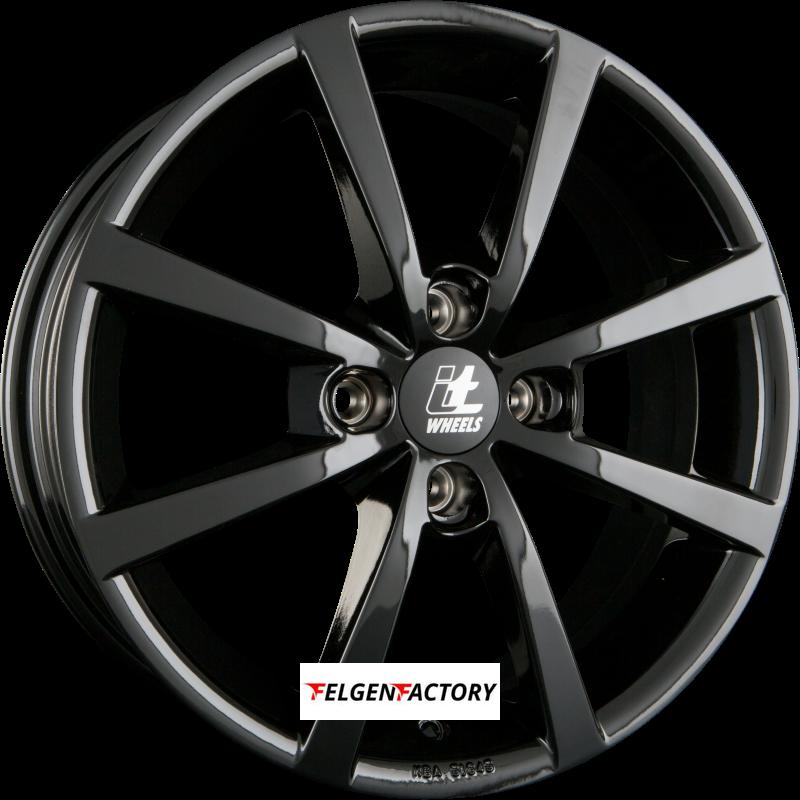 Felgenfactory SCHWARZ 4X Zentrierringe 76,0-57,1 kompatibel mit Audi Seat Skoda VW 76 0 auf 57 1